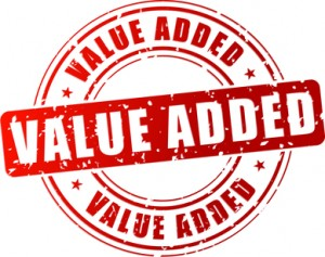 Vector value added stamp