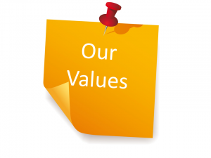 customer service values