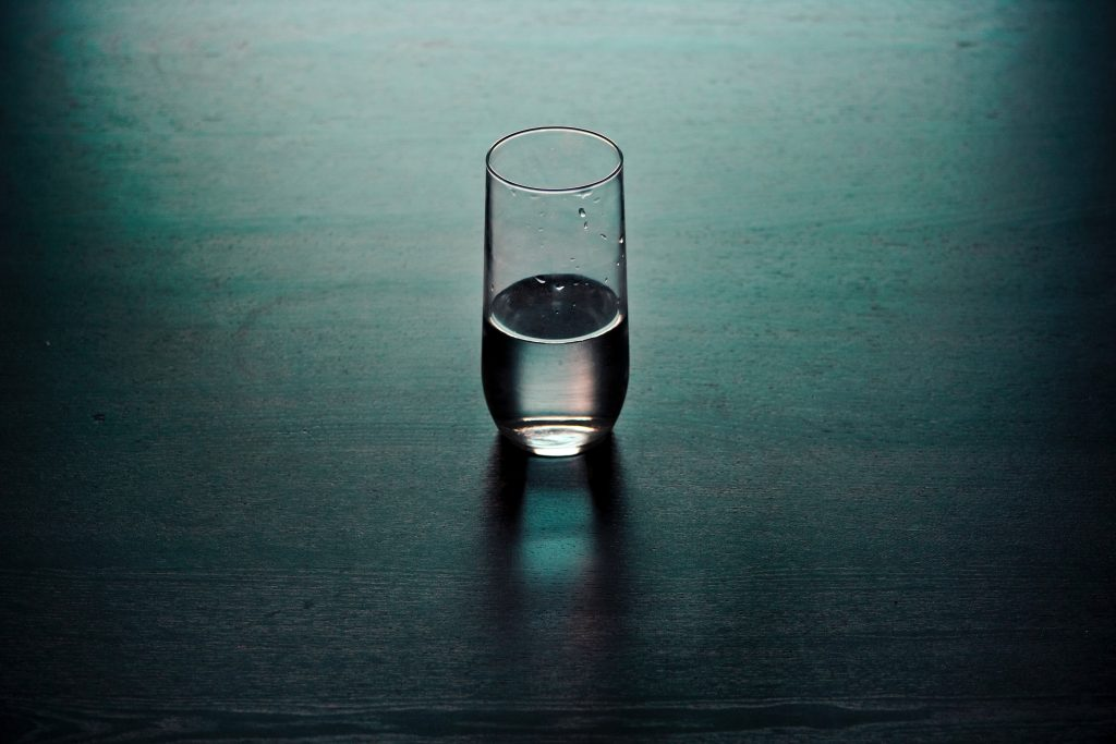employee engagement glass half empty